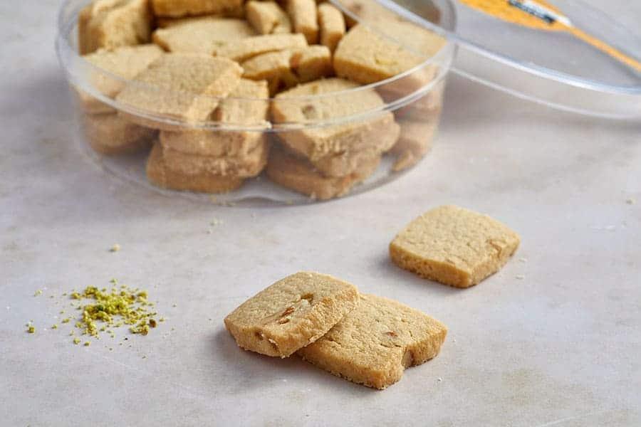 עוגיות טחינה פיסטוק