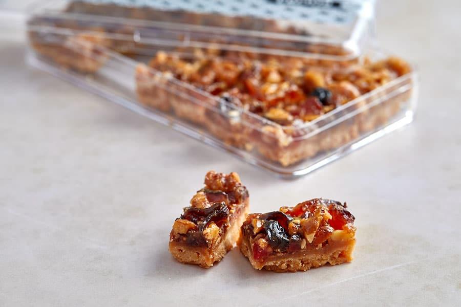 עוגיות פלורנטין פירות יבשים ואגוזים