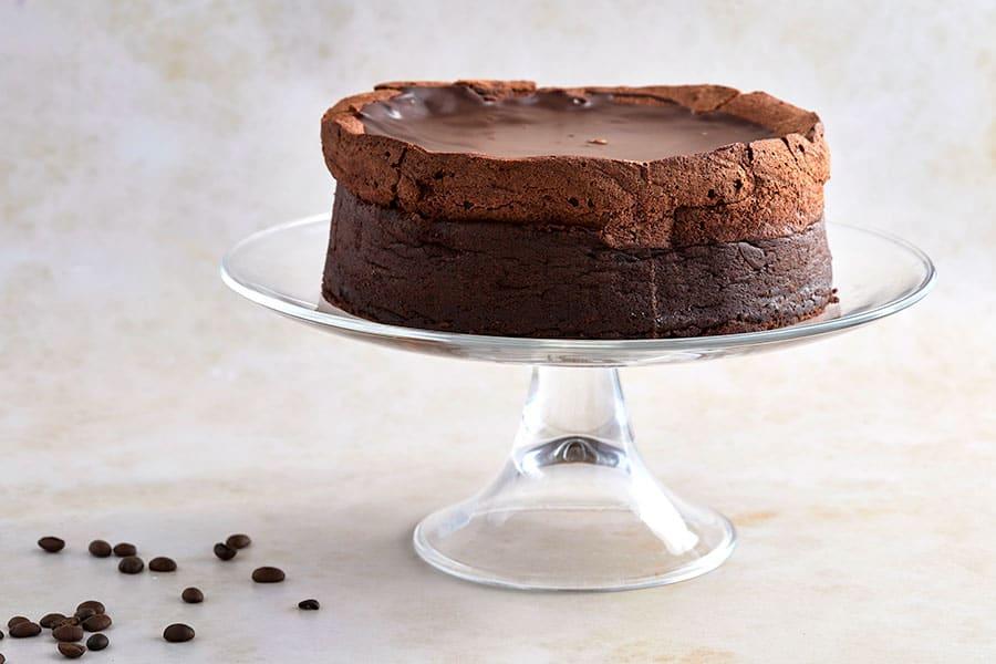 עוגת שוקולד בלגית עגולה